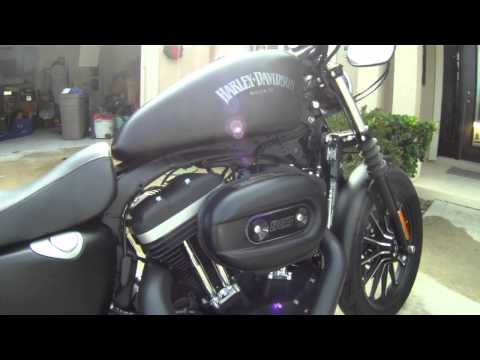 2012 Iron 883 Short Shots Harley