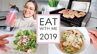 VLOG - 2019 What I Eat To Lose Weight & Grocery Haul!