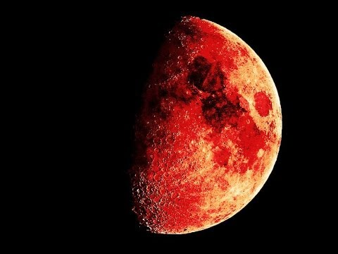 Signs in the Sky : Four Blood Moon Tetrad begins on Passover over the United States (Apr 11, 2014)