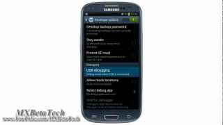 Samsung Galaxy S3 : How To Enable USB Debugging Mode