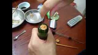 How To Remove A Broken Cork Out Of A Wine Bottle Easy