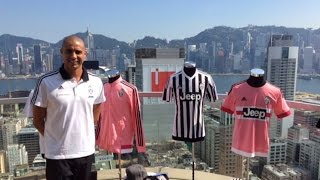 Trezeguet presenta i nuovi store online -  Juventus legend opens new stores in Asia