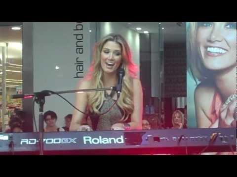 Delta Goodrem - Sitting On Top Of The World - Plenty Valley Westfield - April 13, 2012.