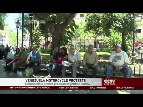 Venezuela Motorcycle Protests