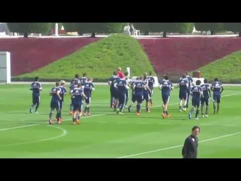 Red Bull Salzburg Team Training Doha 2014 - 3
