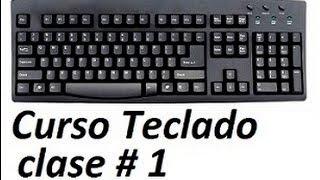 Curso De Teclado PC Increible Asombra A Tus Amigos Clase 1