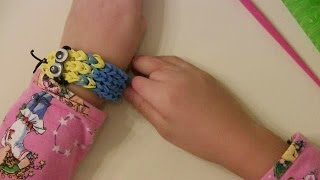 How To Make Despicable Me Minion Rubber Band / Rainbow