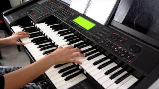 """Hino Novo 207 """"Cristo é Fiel"""" Cantado Ester Yamaha EL90"""