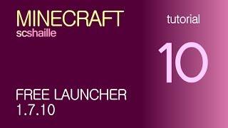 EN Minecraft Tutorials: Free Launcher KeiNett 1.7.10 How