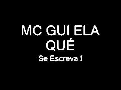 MC GUI ELA QUÉ ♫ (FODA 2012) HD PArt MC Nego Blue DJ Jein