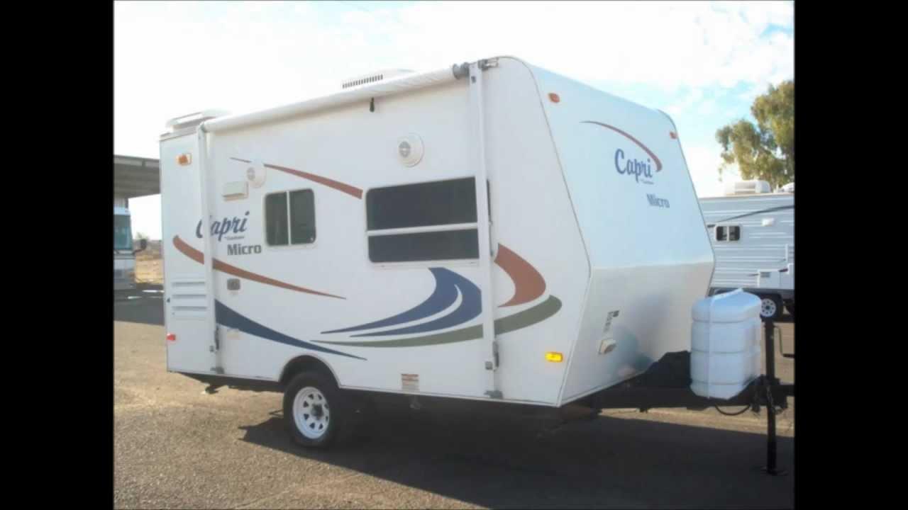 2007 Coachmen Capri Mini Micro Used Trailer Arizona Rv