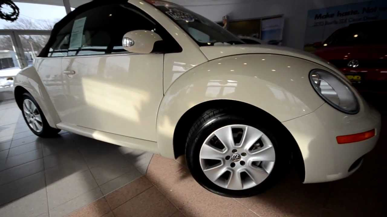 2010 Volkswagen New Beetle Convertible Stk P2632 For