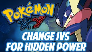 Pokemon X/Y Powersaves Tutorial: How To Change IVs For