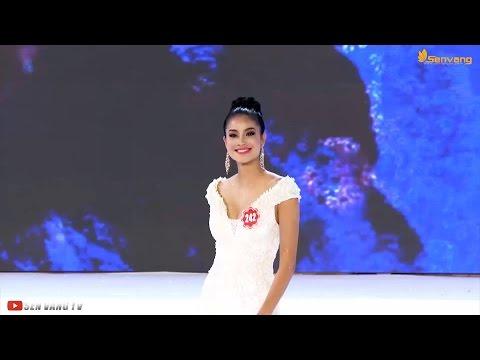 Điểm lại những trang phục dạ hội, áo dài đặc sắc của Hoa hậu Việt Nam 2014