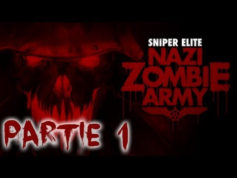Sniper Elite Nazi Zombie Army - Playthrough Coop #1 [HD]