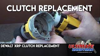 Dewalt XRP drill clutch replacement