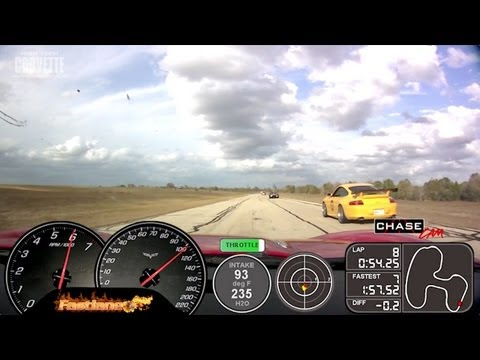 Fastlane Z06 Corvette - Texas World Speedway (full run 2)