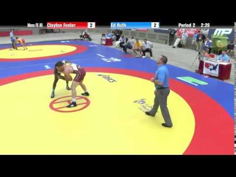 86 KG - Clayton Foster vs. Ed Ruth