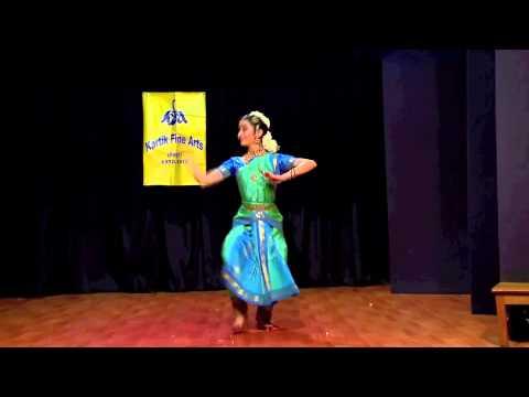 Sonali Skandan - Bharatanatyam - Manavi Varnam