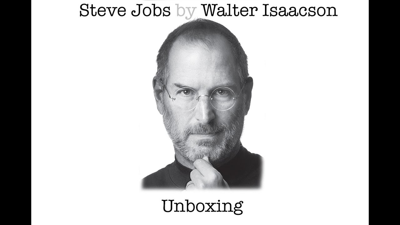 The Steve Jobs Biography Unboxing - YouTube