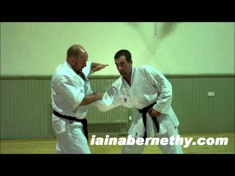 Practical Kata Bunkai: Age-uke, Gyaku-zuki and Leg Scoop Takedown