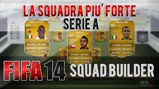 FIFA 14 La Squadra Più Forte Della Serie A Modulo 4-1