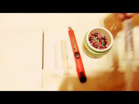Как сделать ручку из шприца своими руками 34