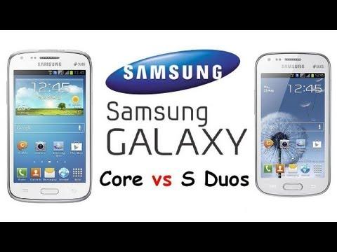 Samsung Galaxy Core vs Galaxy S Duos| Budget Android Smartphones