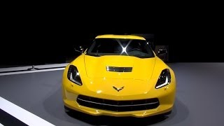 [Chevrolet Corvette Stingray Coupe (2014) Exterior and Interi...] Video