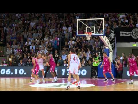 Highlights Telekom Baskets Bonn vs. FC Bayern München (82:87, 03.10.2013)