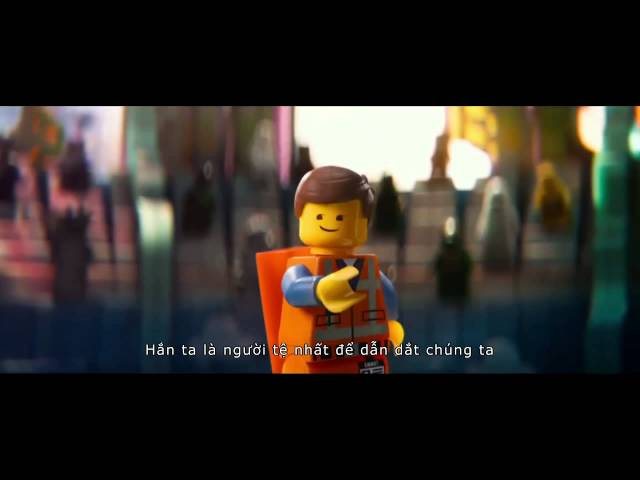 Thế giới Lego -The Lego Movie -  - Phụ đề Việt - Official Trailer #2 - Phụ đề Việt