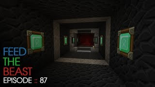 Minecraft Feed The Beast - E87 :: Nether Tunnel