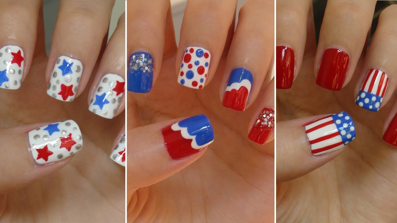 Very Best Easy 4th of July Nail Designs 1280 x 720 · 100 kB · jpeg