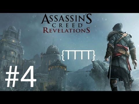 Assassins Creed Revelations - Walkthrough Gameplay - Part 4 [HD] (X360/PS3)