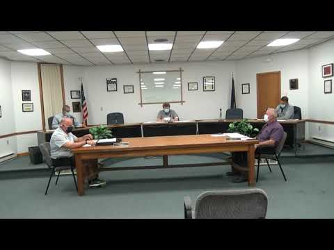 Rouses Point Village Board Meeting 9-21-20