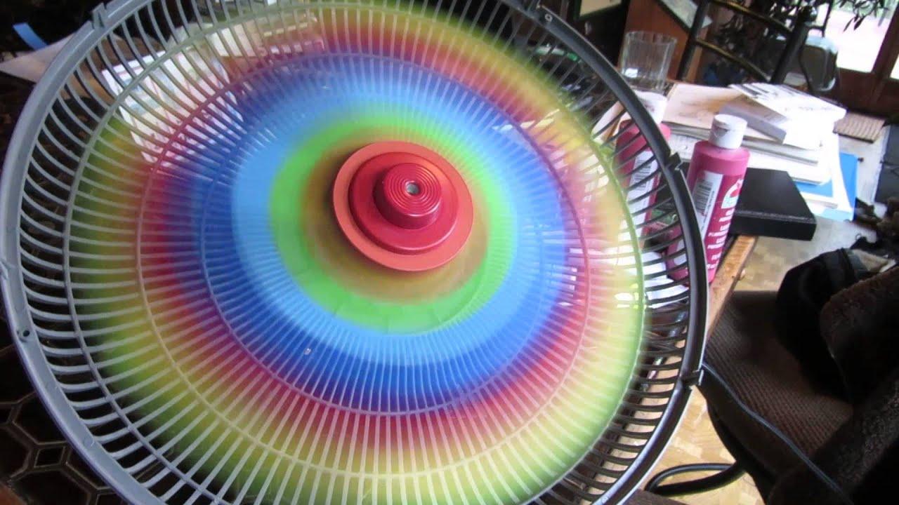 Spinning Rainbow Fan Youtube