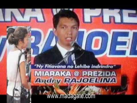 Andry Rajoelina. Marie Audran, Rfi 21.02.2014