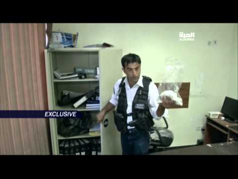 دخول مقر داعش في مخمور واطلاع على وثائق ومحتويات مقر التنظيم السابق