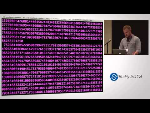 Image from Julia and Python: a dynamic duo for scientific computing; SciPy 2013 Presentation