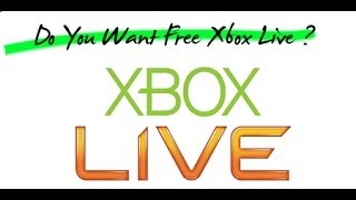 How To Get Unlimited FREE Xbox Live Gold 1 Month