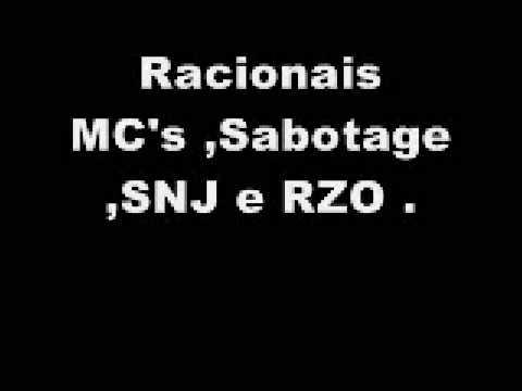 Racionais MC's, Sabotage, SNJ, RZO - Cocaina