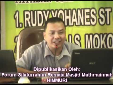 Bagian VIII - Debat ISLAM VS KRISTEN (Insan LS Mokoginta - Rudy Yohanes)