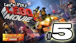 Let's Play The LEGO MOVIE VIDEO GAME! (Level 5) Gameplay