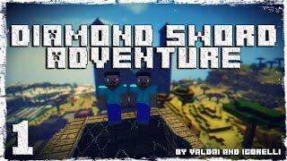 [Coop] Minecraft Diamond Sword Adventure. #1: Приключение начинается.