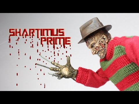 NECA Nightmare On Elm Street Freddy Krueger Retro Action Figure Review