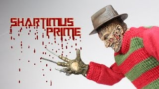 NECA Nightmare On Elm Street Freddy Krueger Retro Action
