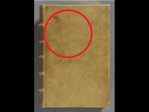 The Book Bound By Human Skin
