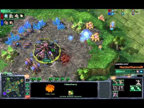 Starcraft 2 - Liquid.Ret vs San - ZvP - Game 3
