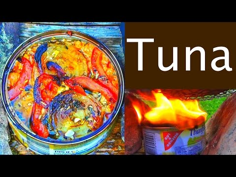 How to cook Tuna in the woods