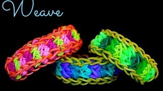 How To Make The Rainbow Loom Weave Bracelet